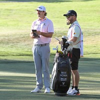 長年の相棒がホマの優勝を陰で支えた(Stan Badz/PGA TOUR) 2022年 フォーティネット選手権  最終日 マックス・ホマ