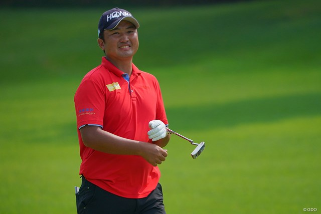 2021年 パナソニックオープンゴルフチャンピオンシップ  初日 小林伸太郎 趣味は「クラブ研究」という小林。「もともとクラブいじりが好きだった」というが熱心に取り組み始めたのは25歳の時からだそう