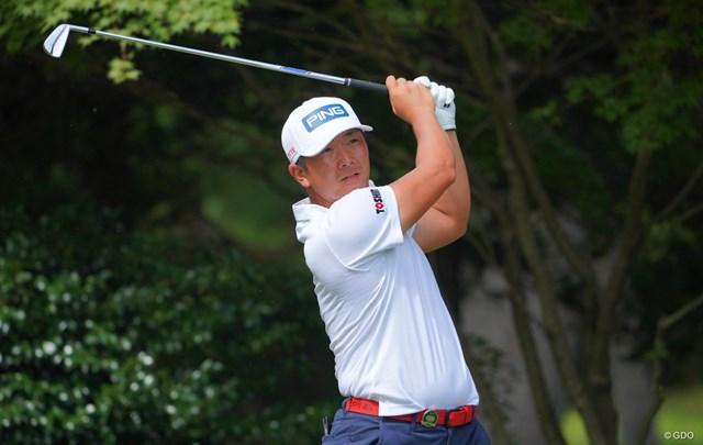 2021年 パナソニックオープンゴルフチャンピオンシップ 2日目 永野竜太郎 永野竜太郎が首位浮上