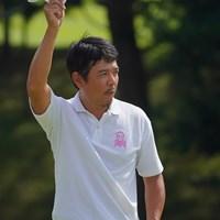 18番、長いバーディパットねじ込んだ! 2021年 パナソニックオープンゴルフチャンピオンシップ 2日目 矢野東