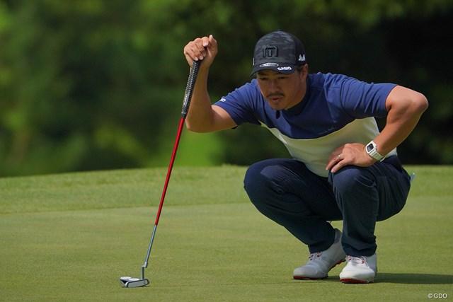 2021年 パナソニックオープンゴルフチャンピオンシップ 2日目 石川遼 Newパターがフィットすればなぁ