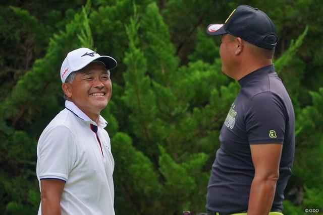 2021年 パナソニックオープンゴルフチャンピオンシップ 2日目 手嶋多一 ナイス予選通過です。ラウンド中、小田孔明プロと九州弁での会話でリラックスできましたかね。