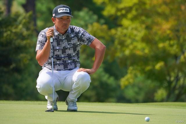 2021年 パナソニックオープンゴルフチャンピオンシップ 3日目 永野竜太郎 永野竜太郎が首位を維持