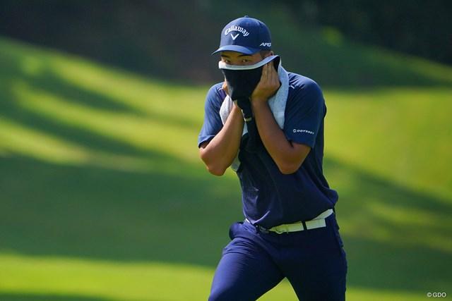 2021年 パナソニックオープンゴルフチャンピオンシップ 3日目 河本力 謎の覆面ゴルファー。