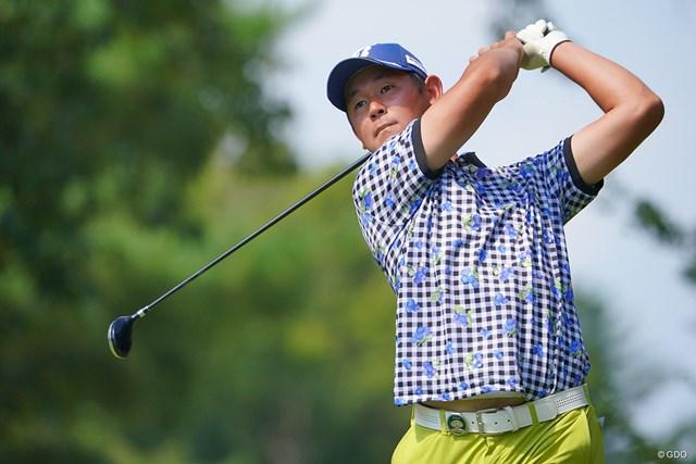 2021年 パナソニックオープンゴルフチャンピオンシップ  3日目 芦沢宗臣 26歳の芦沢宗臣。名前は「母方の実家の茨城県のお坊さんに画数とか聞いたりして決めたそうです」