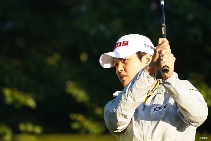 野村敏京はおよそ3カ月ぶりにツアーの舞台に立った 2021年 ウォルマート NW アーカンソー選手権 2日目 野村敏京