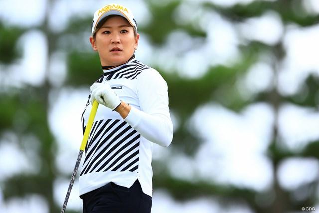 2021年 ミヤギテレビ杯ダンロップ女子オープン  最終日 成田美寿々 成田美寿々は腰痛で棄権
