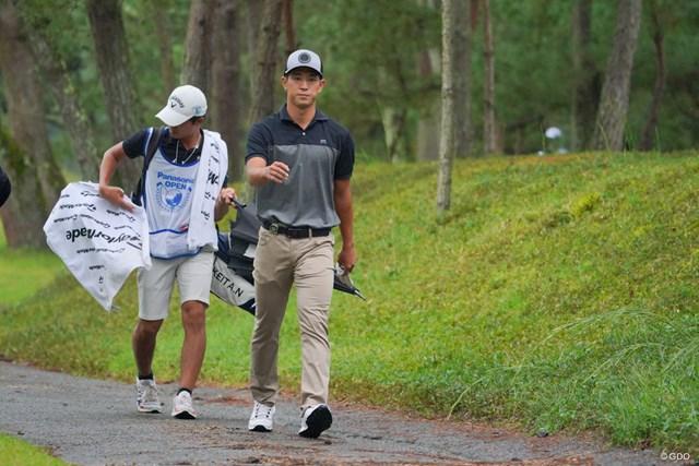 2021年 パナソニックオープンゴルフチャンピオンシップ  最終日 中島啓太 当面はアマを続ける中島啓太