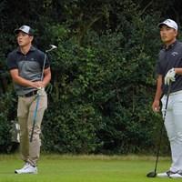 同組で争った先輩と後輩。 2021年 パナソニックオープンゴルフチャンピオンシップ 4日目 中島啓太 河本力