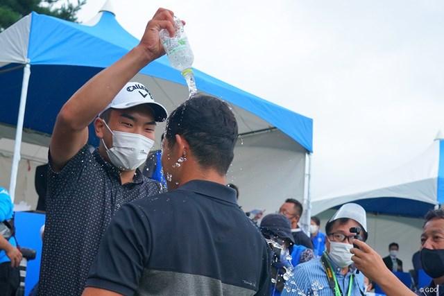 2021年 パナソニックオープンゴルフチャンピオンシップ 4日目 中島啓太 河本力 先輩の洗礼。