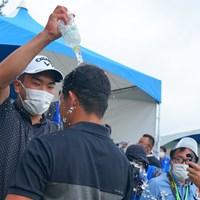 先輩の洗礼。 2021年 パナソニックオープンゴルフチャンピオンシップ 4日目 中島啓太 河本力