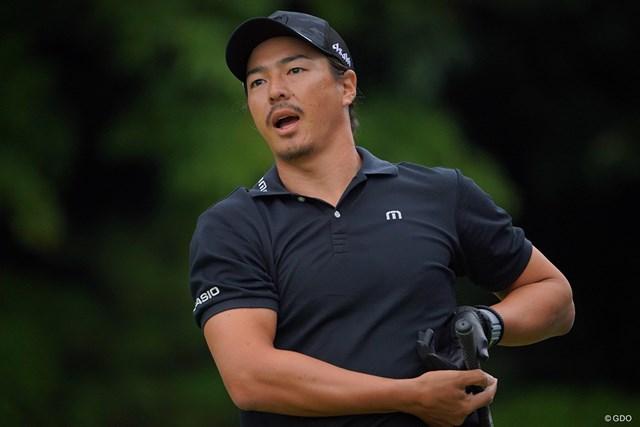 2021年 パナソニックオープンゴルフチャンピオンシップ 4日目 石川遼 スタートでいきなりのティショットOBダボに。