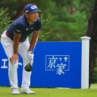 頼むっ。 2021年 パナソニックオープンゴルフチャンピオンシップ 4日目 永野竜太郎
