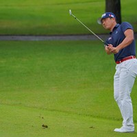 プレーオフ、アプローチショットは見事に寄せたけど。 2021年 パナソニックオープンゴルフチャンピオンシップ 4日目 永野竜太郎