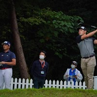 プレーオフを戦う2人。 2021年 パナソニックオープンゴルフチャンピオンシップ 4日目 永野竜太郎 中島啓太