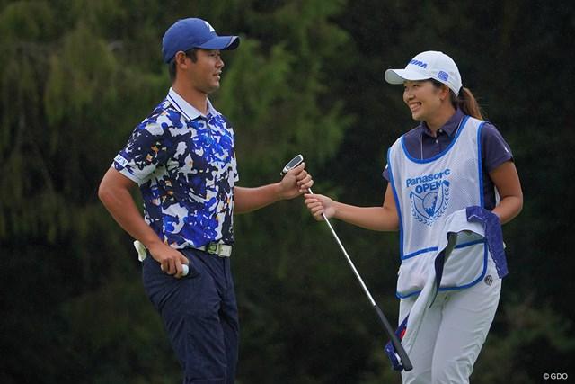 2021年 パナソニックオープンゴルフチャンピオンシップ 4日目 芦沢宗臣 この借りはきっと、珠利ちゃんがここ城陽で行われるステップアップツアーで返してくれるはず。