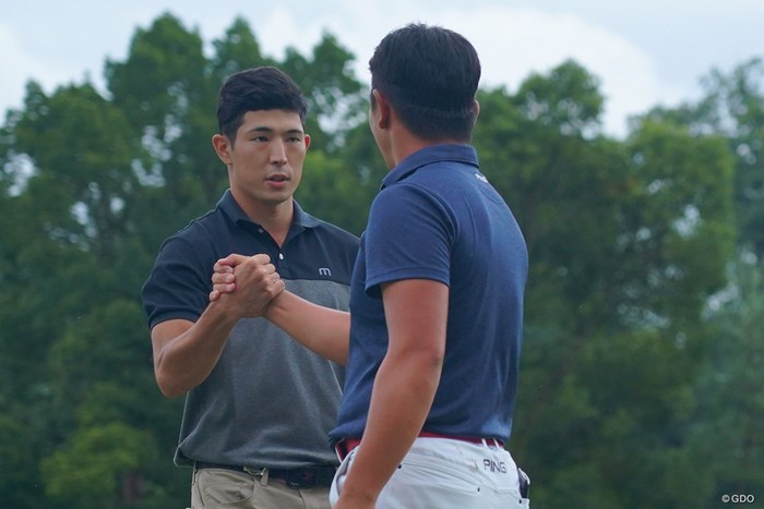 永野竜太郎をプレーオフで下した中島啓太 2021年 パナソニックオープンゴルフチャンピオンシップ  最終日 中島啓太