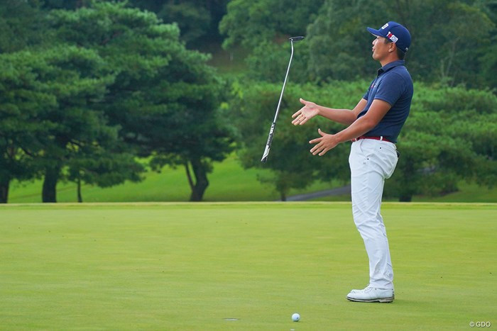 最後はパーパットがカップに蹴られ、永野竜太郎は初勝利を逃した 2021年 パナソニックオープンゴルフチャンピオンシップ 最終日 永野竜太郎