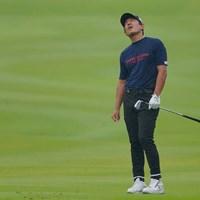 16番3rdショットはグリーンをオーバー。ダボを叩き、万事休す。 2021年 パナソニックオープンゴルフチャンピオンシップ 最終日 矢野東