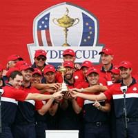 米国が圧勝した(Patrick Smith/Getty Images) 2022年 ライダーカップ 3日目 米国選抜