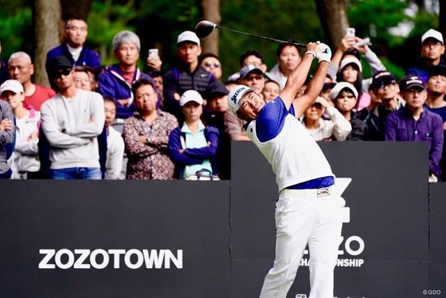 2019-20年 ZOZOチャンピオンシップ 初日 松山英樹 松山英樹が日本開催のZOZOで再び勇姿を見せる