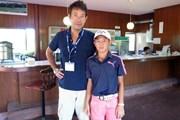 2021年 パナソニックオープンゴルフチャンピオンシップ 最終日 中島啓太 吉岡徹治
