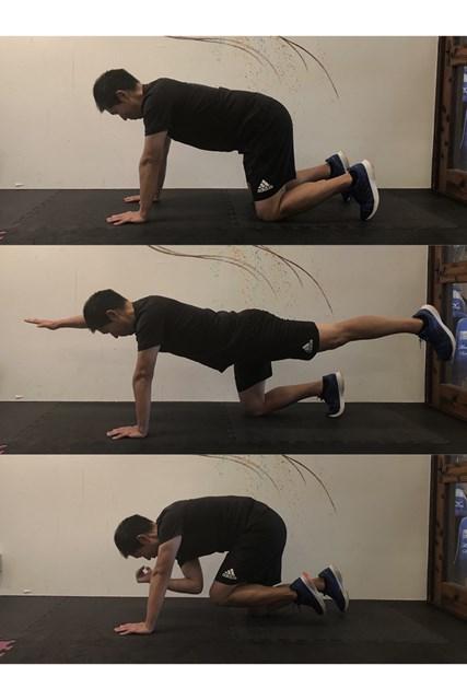 トレーニング1 体幹をしっかり鍛えましょう