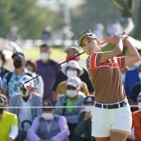 上田桃子が5アンダー首位で発進した 2021年 日本女子オープンゴルフ選手権 初日 上田桃子
