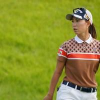 首位で初日を終えた 2021年 日本女子オープンゴルフ選手権 初日 上田桃子