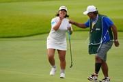 2021年 日本女子オープンゴルフ選手権 初日 鈴木愛