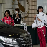 帰りま~す 2021年 日本女子オープンゴルフ選手権 2日目 鈴木愛 原英莉花