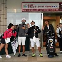 ハイ、チーズ 2021年 日本女子オープンゴルフ選手権 2日目 鈴木愛