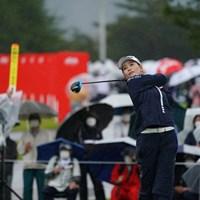 1番ティショット 2021年 日本女子オープンゴルフ選手権 2日目 山路晶