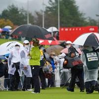 コースコンディション不良のため引き上げ 2021年 日本女子オープンゴルフ選手権 2日目 宮里美香