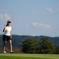 8番よく入れたな~ 2021年 日本女子オープンゴルフ選手権 2日目 上田桃子