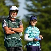 この身長差 2021年 日本女子オープンゴルフ選手権 2日目 青木瀬令奈