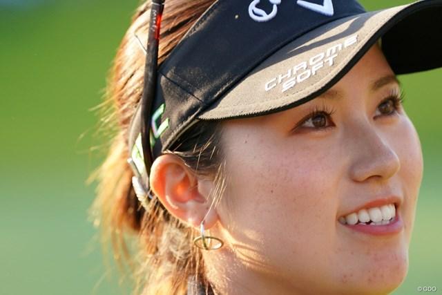 2021年 日本女子オープンゴルフ選手権 3日目 西村優菜 素敵なピアスと笑顔で最終日も行こう