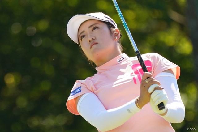 2021年 日本女子オープンゴルフ選手権 3日目 稲見萌寧 なんと6オーバー