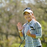 お~素敵なスマイルじゃん 2021年 日本女子オープンゴルフ選手権 3日目 青木瀬令奈