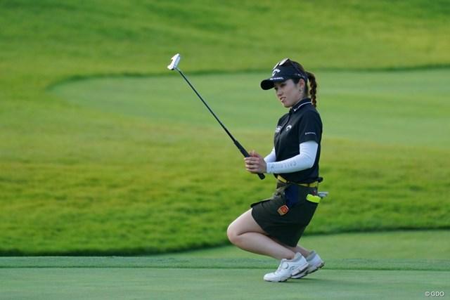 2021年 日本女子オープンゴルフ選手権 3日目 西村優菜 入ってやってよ