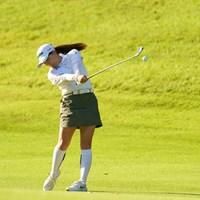 みなみちゃんは17番セカンドショットはアイアンです 2021年 日本女子オープンゴルフ選手権 最終日 勝みなみ