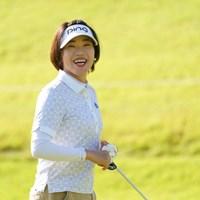 もしかして今大会最年長ですか?キャディさんも最年長らしい 2021年 日本女子オープンゴルフ選手権 最終日 大山志保