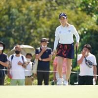 笑顔は大事なんよ 2021年 日本女子オープンゴルフ選手権 最終日 西村優菜