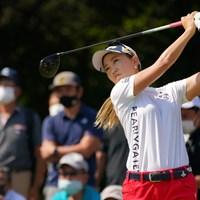 ベテラン強い2位タイです 2021年 日本女子オープンゴルフ選手権 最終日 上田桃子