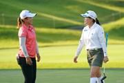 2021年 日本女子オープンゴルフ選手権 最終日 勝みなみと西郷真央