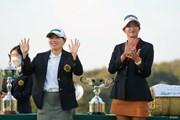 2021年 日本女子オープンゴルフ選手権 最終日 勝みなみと原英莉花