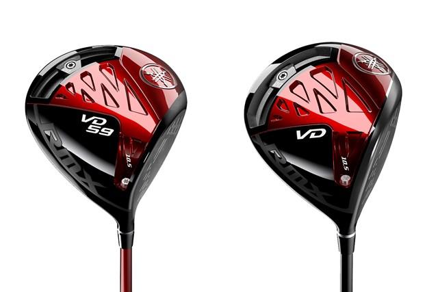 2021年 ヤマハ「RMX VD 59 ドライバー」(左) ヤマハ「RMX VD ドライバー」(右) ヤマハの最新モデル「RMX VD」からドライバー2機種が登場