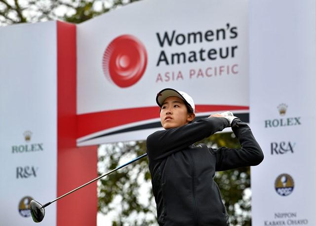 2021年 シャオウェン・イン アジアから強豪アマが集結。プロに混じりCLPGAツアーで3勝を挙げているシャオウェン・イン(提供:R&A)