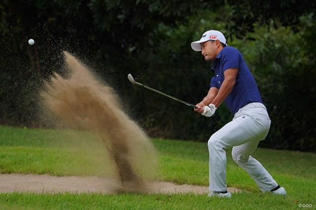 2021年 ブリヂストンオープンゴルフトーナメント 初日 小平智 このライから簡単に寄せちゃうんだもんなぁ。