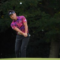 ノーボギーのラウンドで、首位とは1打差のスタート。 2021年 ブリヂストンオープンゴルフトーナメント 初日 宮本勝昌